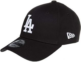 New Era Los Angeles Dodgers 9forty Strapback Cap Black White Adjustable 940 Basecap