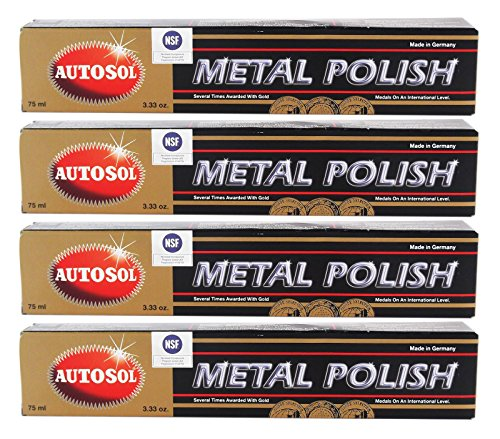 Autosol SOL01001000x4 abrillantadores para Metal