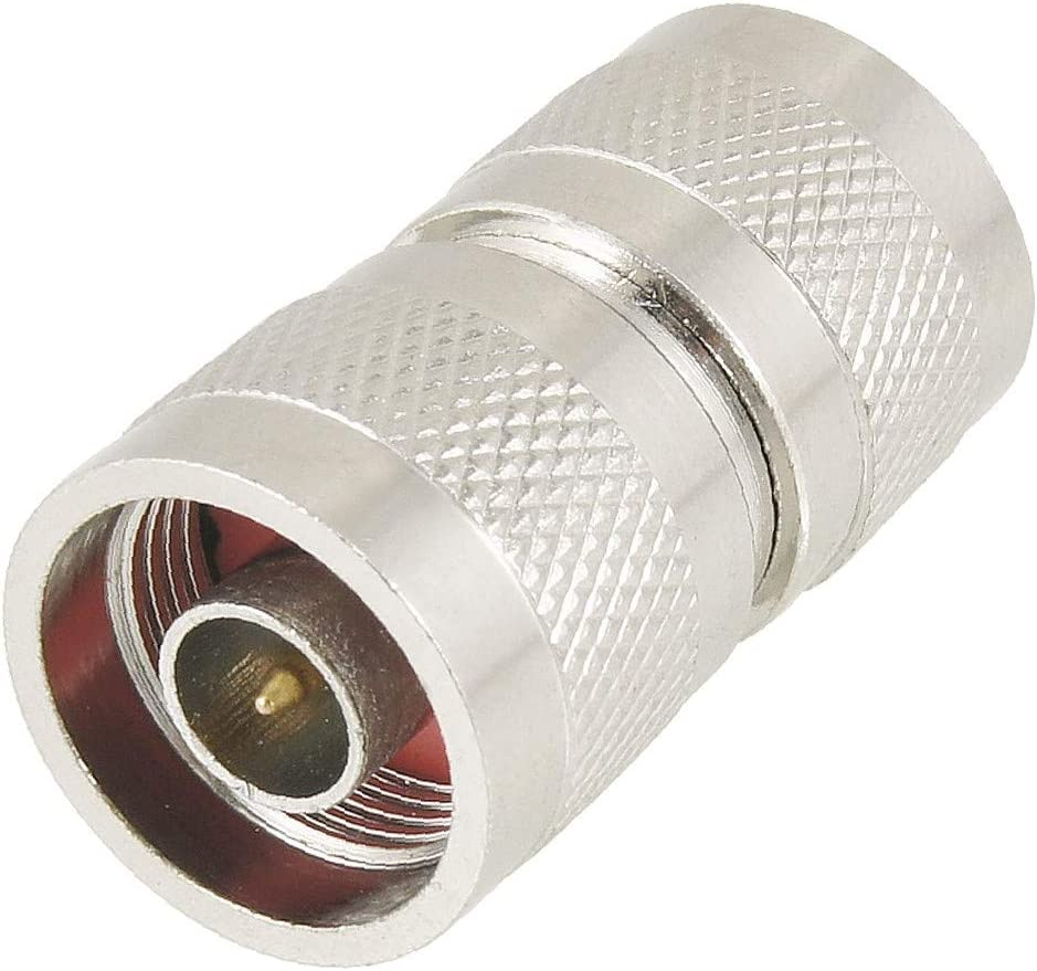 X-DREE Silver Tone Great interest N Male Adapter Connector Argent Coax Max 69% OFF to