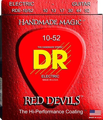 Dr e exrd RDE-Heavy 10/52Extra Red Devils Big chitarra