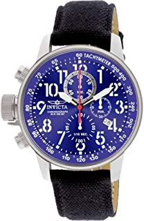 Men's 1513 I Force Collection Stainless Steel and Cloth Watch