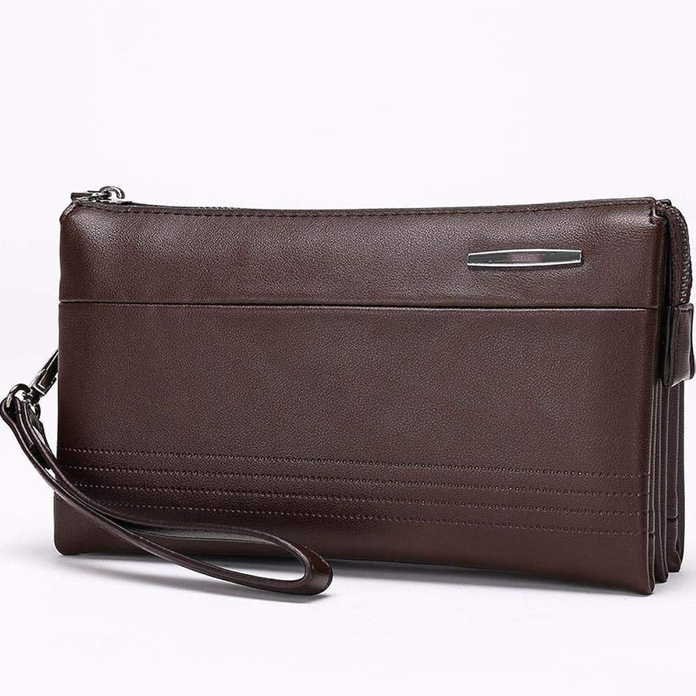 PYIP Herren Handtasche Hand Tasche Pu große Kapazität Clutch-Tasche multifunktionale Clutch-Tasche B07LDY1QDQ  Internationale Wahl