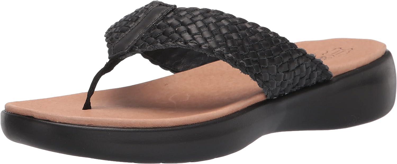Skechers Ranking TOP8 Women's Arlington Mall On-The-go Luxe Sandal Leather Woven Flip-Flop
