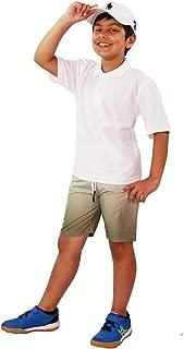 Kids Boys Shorts Fade 2 Tone Olive Summer Chino Short Knee Length Half Pant 3-13