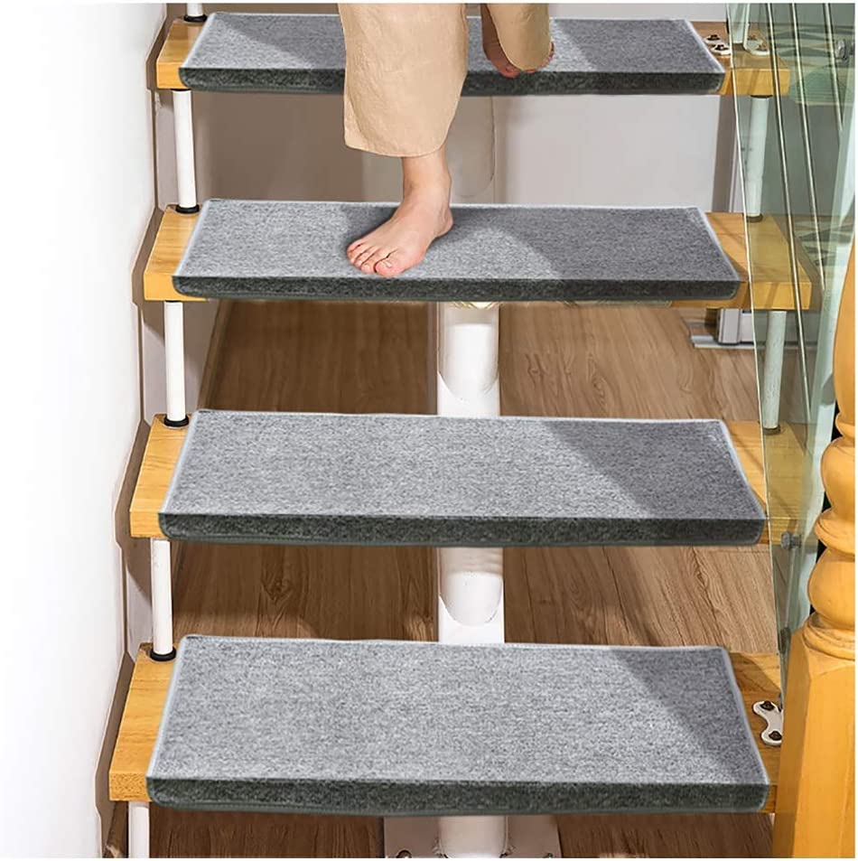 Stair Treads Carpet 5pcs Mail order cheap Shipping included Modern Mats Stairs