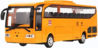 Kylin Express Alloy Car Model Collection with Light&Sound/ American School Bus, Yellow