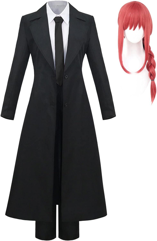Denji / Makima Disfraz de Cosplay Anime Chainsaw Man Denji / Makima1 Uniforme de Cosplay Anime Chainsaw Man Makima2 Cosplay Traje de uniforme de enfermera para la fiesta de Carnaval de Halloween