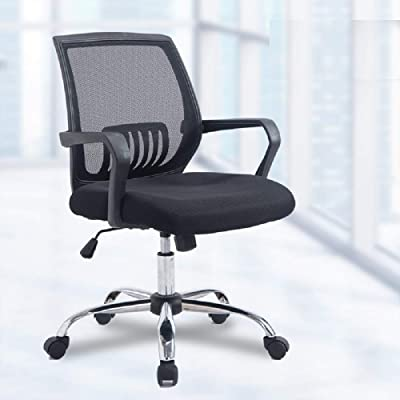 SVITA Kinder Schreibtischstuhl B/ürostuhl Netzbezug Drehstuhl Stuhl Schreibtisch Blau