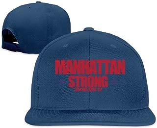 Manhattan Strong Logo Flat Brim Baseball Hat