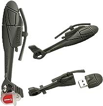 64GB USB Flash Drives Helicopter Shaped Cute Cartoon Data Storage Device USB Memory Stick Pen Thumb Drive