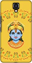 AMZER Handcrafted Designer Printed Slim Snap on Hard Case - Infinix Note 4 - Almighty Krishna 3