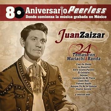 Peerless 80 Aniversario - 24 Temas con Mariachi y Banda