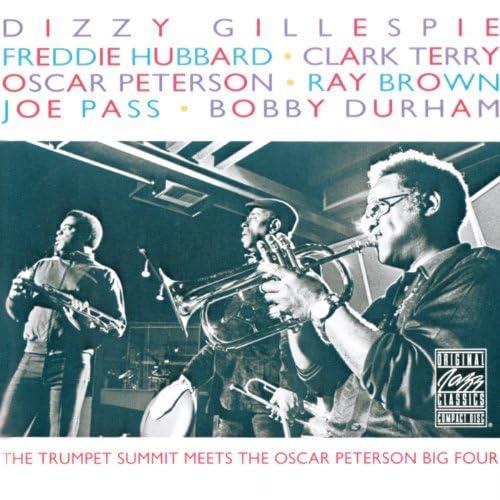 Dizzy Gillespie, Freddie Hubbard, Clark Terry, Oscar Peterson & Joe Pass