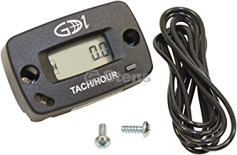 Stens 435-707 Digital Tach and Hour Meter, Universal Fit, Replaces Briggs & Stratton: 19598