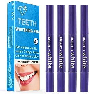 Blanqueamiento dental kit gel, iFanze blanqueamiento dental pincel, kit Blanqueamiento Dental Profesional, Blanqueamiento de Dientes, Teeth Whitening, Profesional Reducir Manchas Dientes, 4 PCS