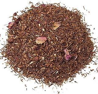 Aromas de Té - Té Infusión Rooibos Rojo Sabor Vainilla/Rooibos a Granel de Alta Calidad, Rooibos Rojo Vainilla, 100 gr