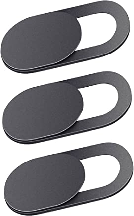MagiDeal 3 Pack Camera Privacy Sticker,Removable and Reusable Web Camera Cover Stick for Tablet,Laptop,iPhone X 8,8 Plus,Nokia,and Other More Brands