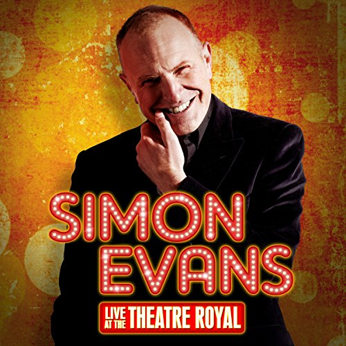 Simon Evans Live at the Theatre Royal audiobook cover art