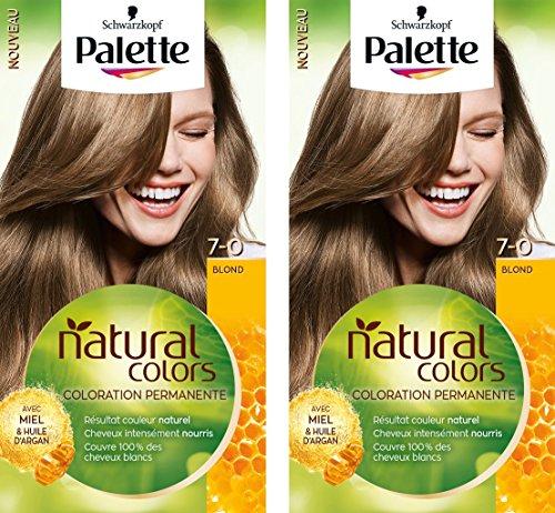 Palette Natural Colors - Coloración para el cabello, 50ml, lote de 2 unidades