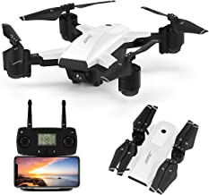 $179 » JJRC H78G 5G WiFi FPV Foldable Drone with 1080P HD Camera Live Video,GPS Drone 30Mins(15+15) Long Flight Time RC Quadcopter with Follow me,Smart Return Home,Folding Rc Drone for Adults(White)