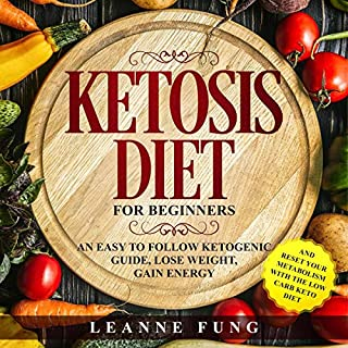 Ketosis Diet for Beginners cover art