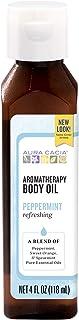 Aura Cacia Body Oil, Refreshing Peppermint, 4 Fluid Ounce