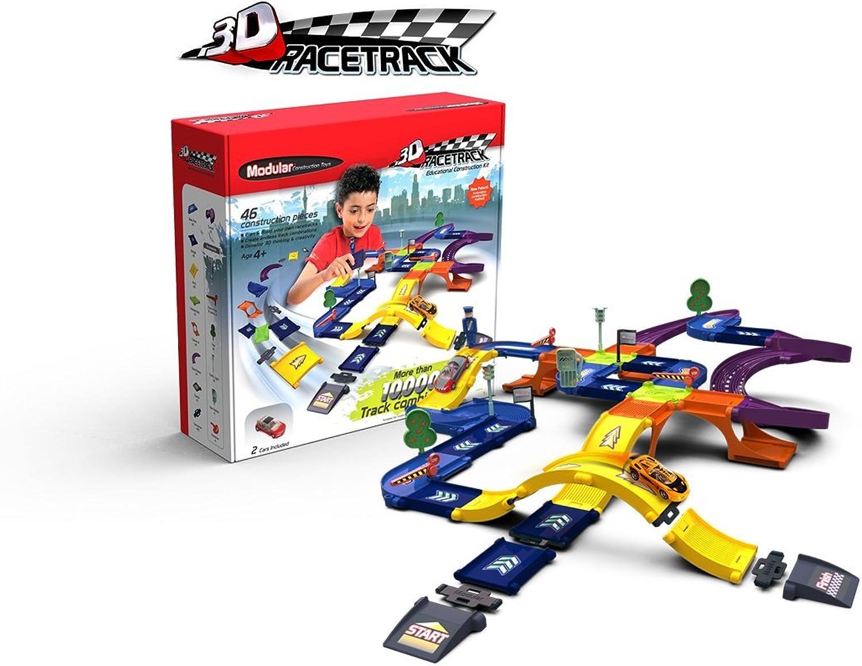 Modular Race Track Construction Kit
