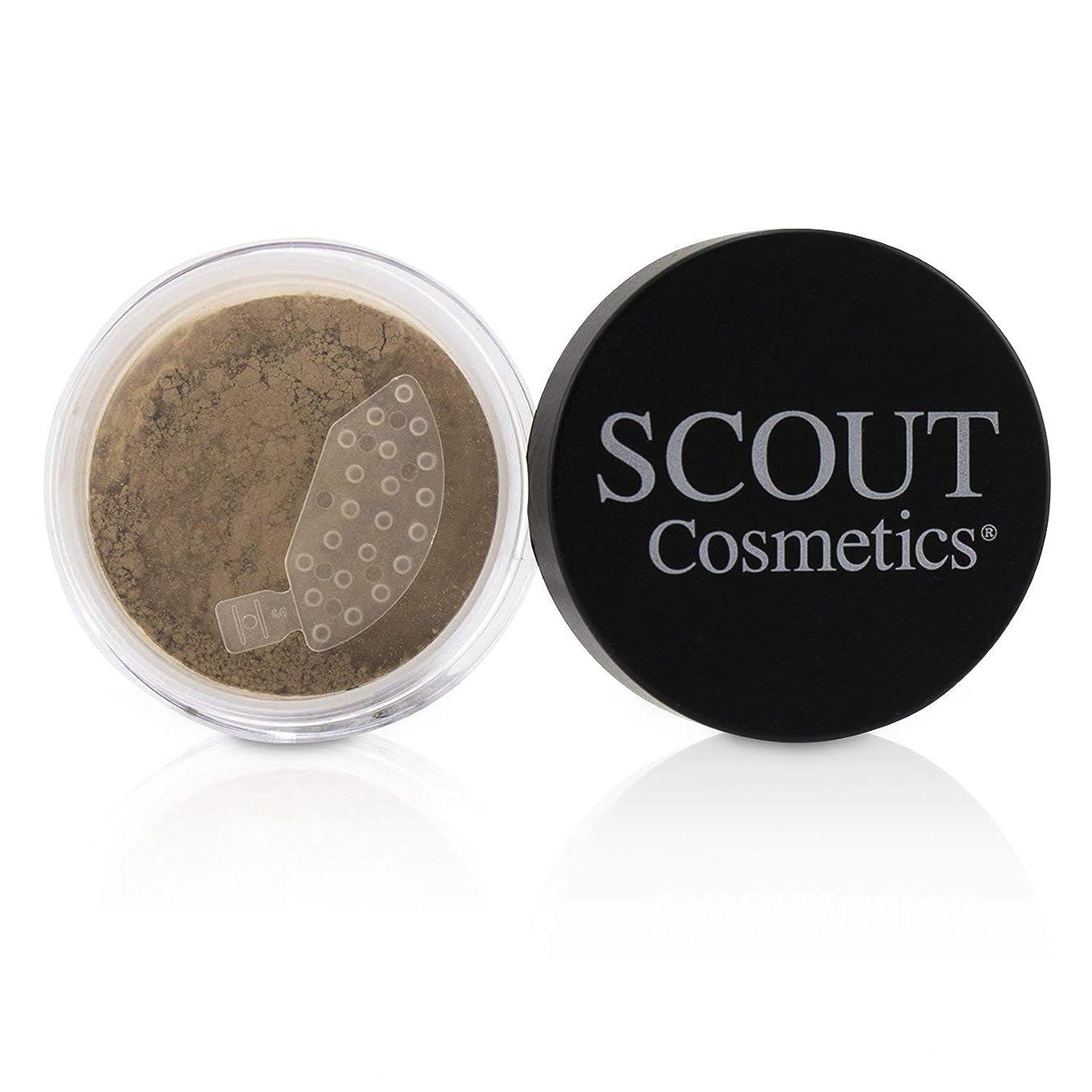 ギャップケープ軌道SCOUT Cosmetics Mineral Powder Foundation SPF 20 - # Sunset 8g/0.28oz並行輸入品