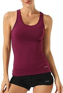 STARBILD Maglie a Manica Lunga da Donna Maglieria Senza Cuciture Camicie T-Shirt sotto Maglie Sweatshirts Abbigliamento Canotta Corsa