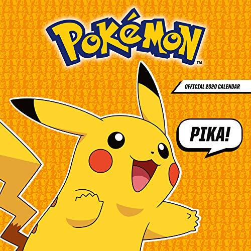 Pokémon Kalender 2020 Pikatchu Offizieller Kalender 2020, 12 Monate, original englische Ausführung. (2020 Calendar)