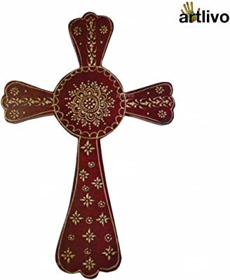 Carson Statesmetal Crosses 7 3//4 Butterfly Wall Cross