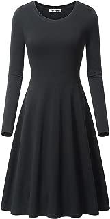 Best simple black dress with long sleeves Reviews