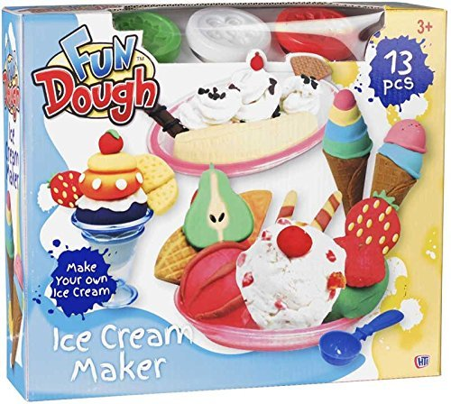 Toyland® Maak je eigen ijs - 13-delige ijsmachine - Playdoh Pretend Play
