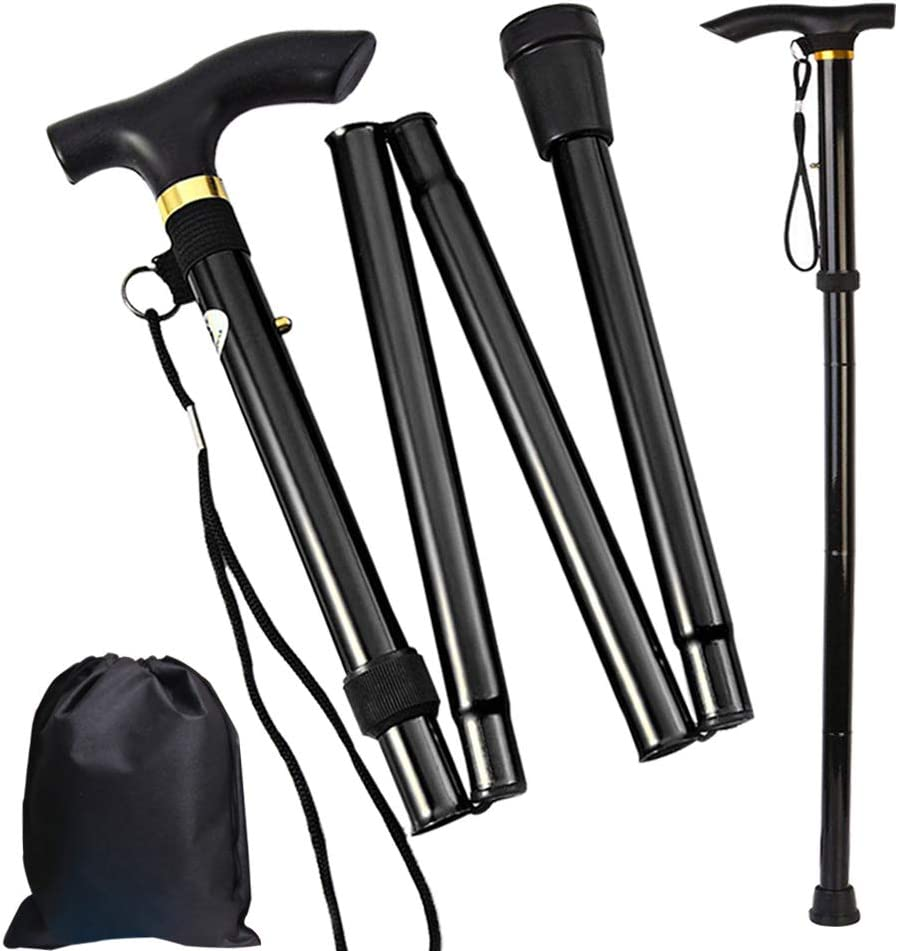 Folding Cane Trekking Poles Our Import shop OFFers the best service for Women Walking Collapsible Men