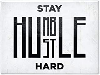 Best stay humble hustle hard canvas Reviews