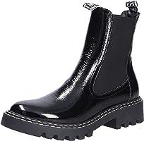 Tamaris Damen Stiefeletten, Frauen Chelsea Boots,Comfort Lining,TOUCHit-Fußbett