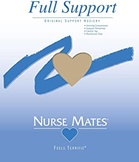 Nurse Mates - Womens - Full Support Hosiery (Nearly Nude, B)