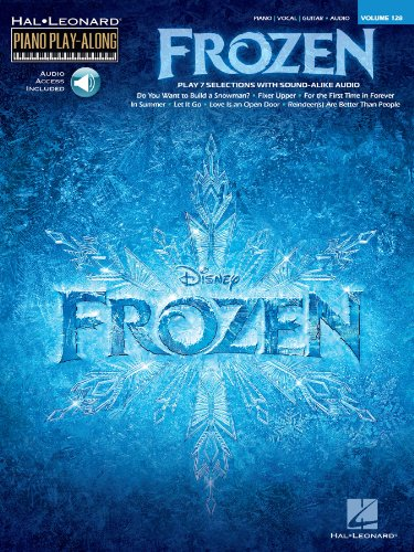 Frozen - Piano Play-Along Songbook (with Audio): Piano Play-Along Volume 16 (Hal Leonard Piano Play-Along 128) (English Edition)