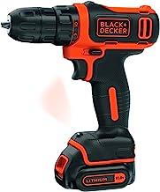 BLACK+DECKER BDCDD12-QW - Taladro Atornillador sin Cable 10.8V, 540W, incluye batería de litio