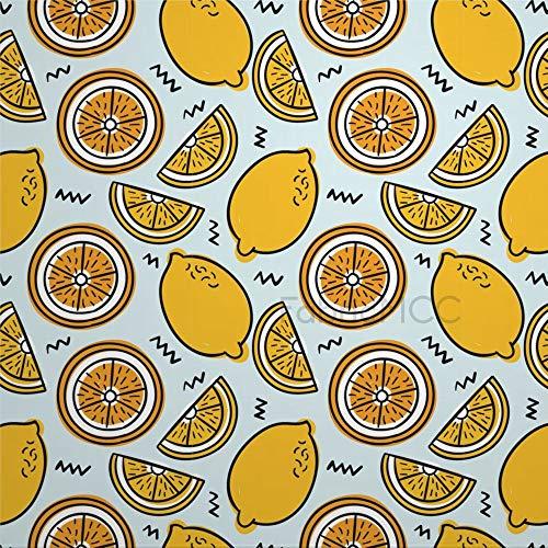 daoyiqi Juego de adhesivos decorativos para azulejos, diseño de flores y flores, color amarillo, 10,4 x 10,4 cm, vinilo resistente al agua para decoración del hogar