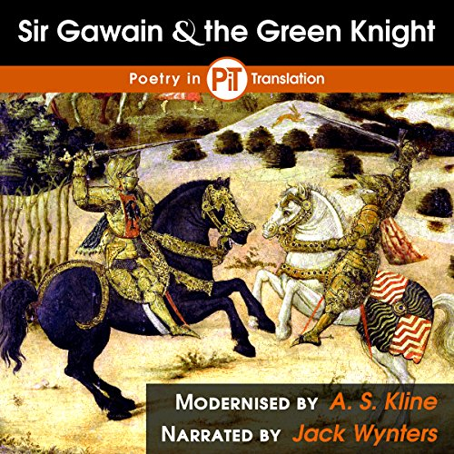Sir Gawain and the Green Knight audiobook cover art