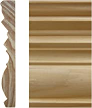 MAOS 5/8in x 4-1/2in x 8'ft Pine Finger-Joint Base Moulding (4-Pieces)