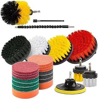 مجموعة فرشاة المثقاب 24 قطعة من مجموعة أدوات تنظيف لتنظيف المياه متعدد الأغراض لتنظيف حوض الاستحمام