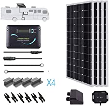 Renogy 400W Monocrystalline Solar RV Kit with 30A Charger Controller