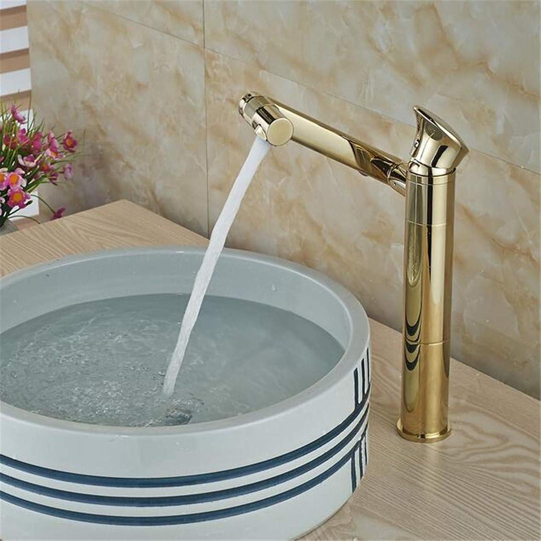 Basin Faucet Bathroom Sink Tap Brass Countertop Basin Sink Faucet Single Handle Swivel redation Spout Bathroom Mixer Tap