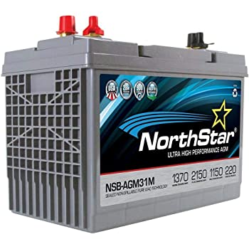 NorthStar NSB-AGM31M AGM Group 31 Marine Battery 1370MCA/1150CCA