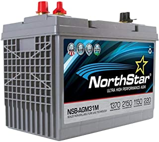 NorthStar NSB-AGM31M AGM Group 31 Marine Battery 1370MCA/1150CCA