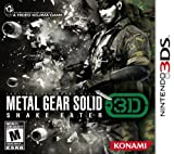 Metal Gear Solid 3D Snake Eater - Nintendo 3DS Standard Edition