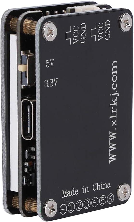 1‑6S Battery Lipo Voltage Checker Ricevitore Tester di Segnale per s ‑ Bus PPM PWM e ricevitori DSM Drfeify MC-6S Voltage Checker Nero