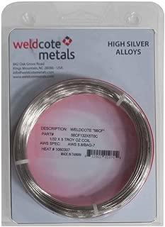 Weldcote Metals 56 Cadmium Free silver solder Size: 1/32